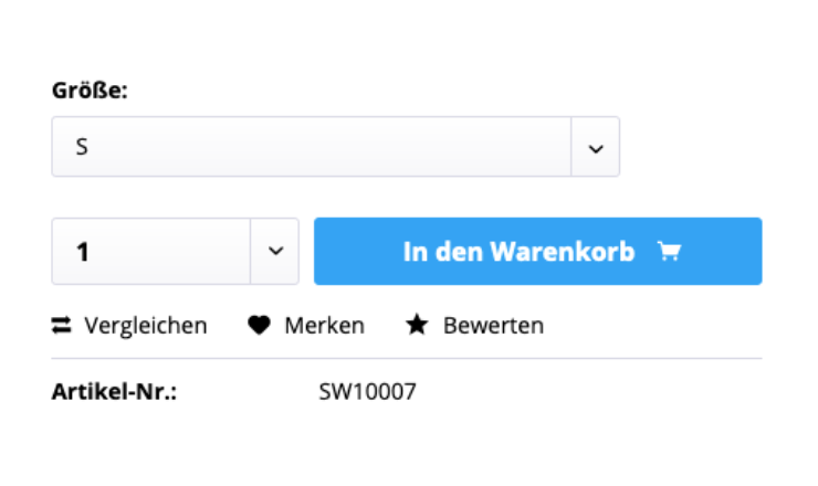 Warenkorb Button Effekte